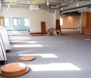 Healing Center construction